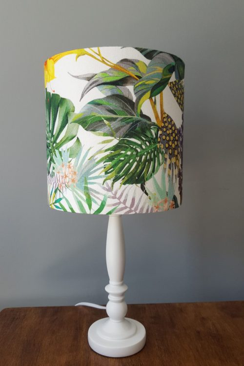 Small Tropical Table Lamp