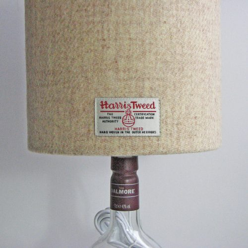 20cm Cream Oatmeal Bottle Lamp
