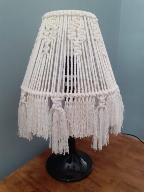 Small Macrame Lampshade